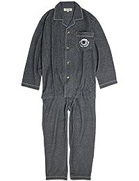 パジャマ メンズ 前開き 無地 テーラー衿 長袖 シャツパジャマ 上下組 男性用 寝巻き