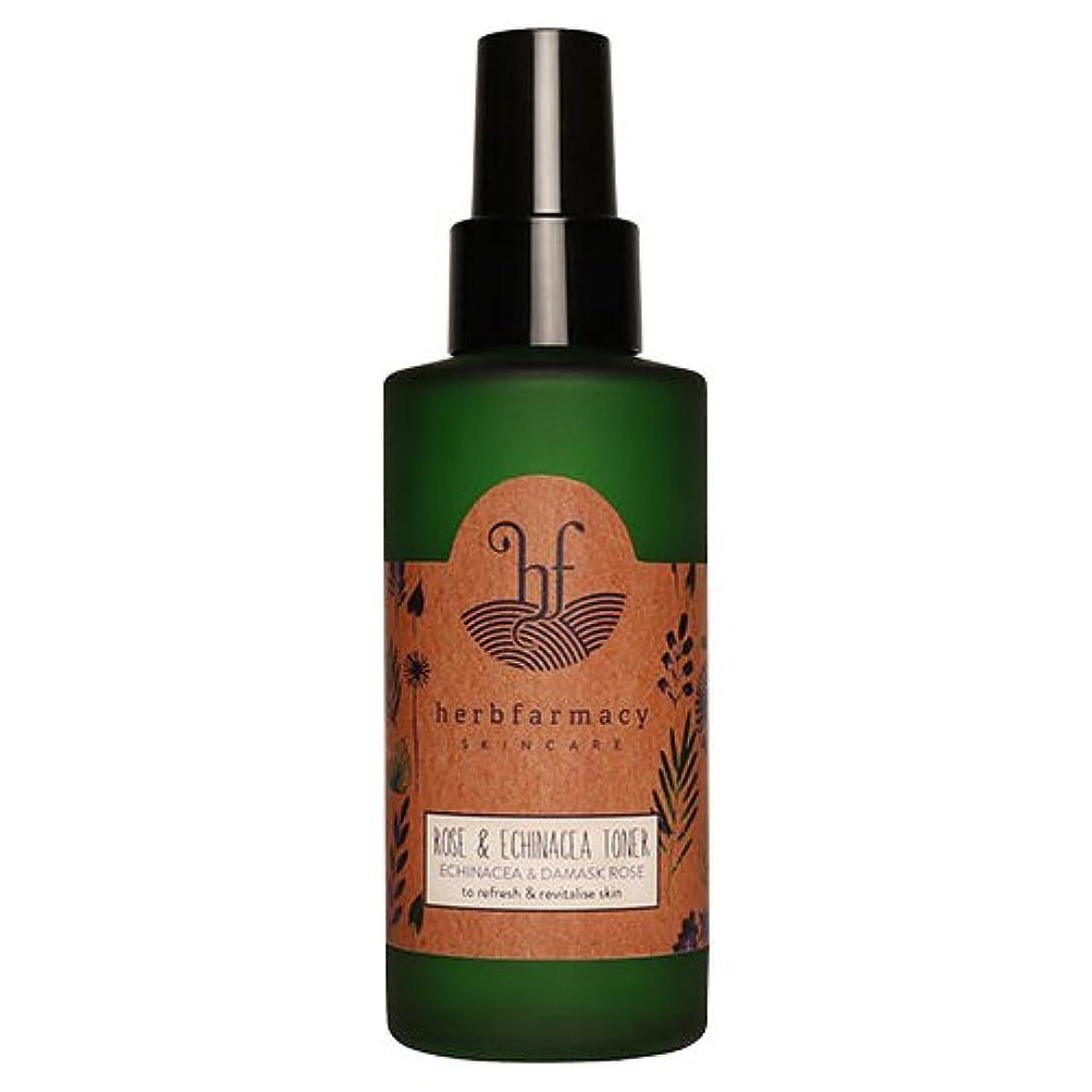 第インカ帝国脅かすハーブファーマシー (herbfarmacy) ダマスクローズ アンド エキナセア トナー 〈化粧水〉 (95mL)