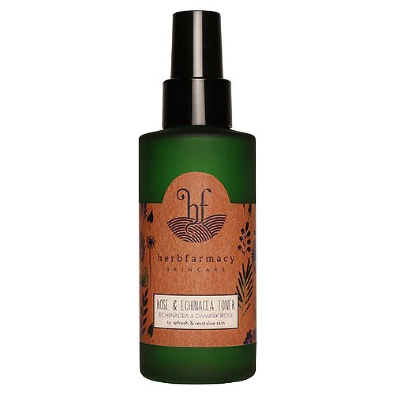 山岳不良品脈拍ハーブファーマシー (herbfarmacy) ダマスクローズ アンド エキナセア トナー 〈化粧水〉 (95mL)