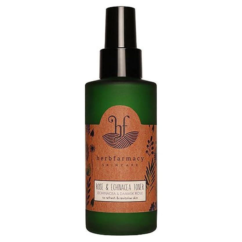 ハーブファーマシー (herbfarmacy) ダマスクローズ アンド エキナセア トナー 〈化粧水〉 (95mL)