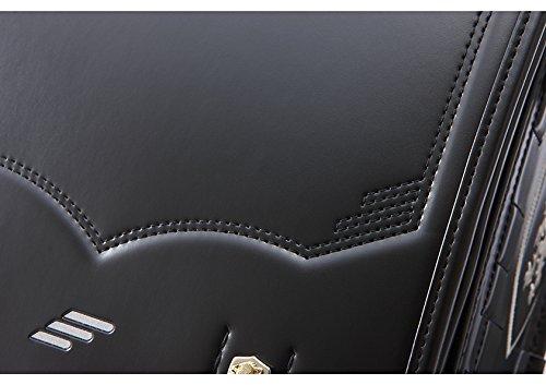 セイバン 天使のはねランドセル モデルロイヤル A4クリアファイル対応 (ブラック)