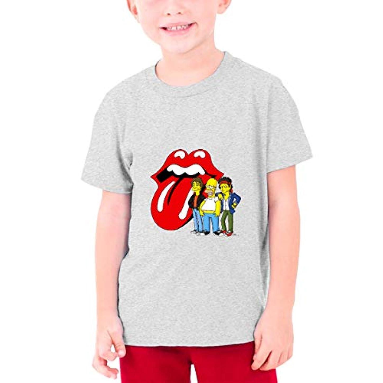 意味のある余韻夢中DSMT Tシャツ キッズ 半袖 シャツ シンプソンズ Simpsons 夏 ボーイズ クルーネック ベビー服 トップス 子ども プリント 綿 ゆったり 子供服 キッズコスチューム Tシャツ キッズ Black