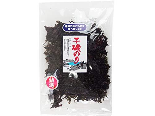 干磯のり18g(国産いそ海苔)国産のりを原藻のまま乾燥させました。磯の香りが広がる逸品(黒海苔 イソノリ)お吸い物 味噌汁 ラーメン うどん