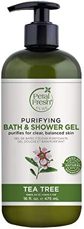 Petal Fresh Purifying Bath & Shower Gel, Tea Tree, 4