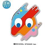 パックマン 40th ゴースト 透明ステッカー 40周年 記念 ゲーム キャラクター PAC-MAN ライセンス商品 LCS1050 gs グッズ