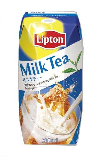 リプトン ミルクティー 200ml×24本