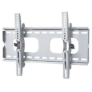 液晶テレビ壁掛け金具 26-42インチ対応 上下角度調節 シルバー PLB-ACE-117SS 【中型テレビ壁掛け】