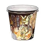 マルコメ ぽん多監修 カップ名店の味巡りとん汁 1食×6個