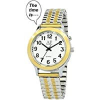 2nd Generation Talking Watch - Dual-Tone Alarm Day-Date Women Watch (ATK358L02)(M106)