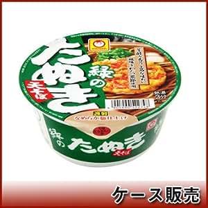 東洋水産 マルちゃん 緑のたぬき天そば 101g × 12個
