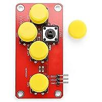 WZY Lin LDTR-Arduino用の5つの電子部品をシミュレートしたWG0076 ADキーボードモジュール