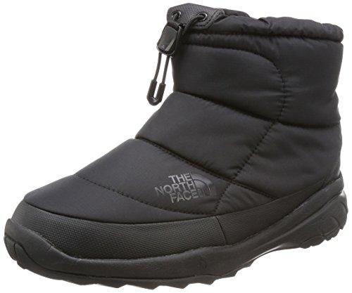 [ザ・ノース・フェイス] ブーツ Nuptse Bootie WP V Short NF51782 TNFブラック×ブラック US 7(25 cm)