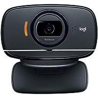 ロジクール ウェブカメラ B525 フルHD 1080P ウェブカム マイクロソフト Skype for Business 認定取得 小型 折りたたみ オンライン会議 ウェブ会議 自動光補正 国内正規品 3年間メーカー保証