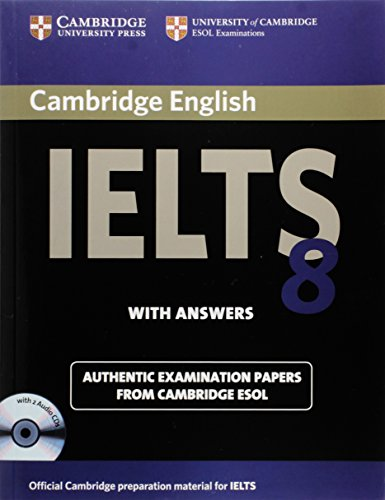Cambridge IELTS 8 Self-study Pack (Student's Book with Answers and Audio CDs (2)): Official Examination Papers from University of Cambridge ESOL Examinations (IELTS Practice Tests)の詳細を見る
