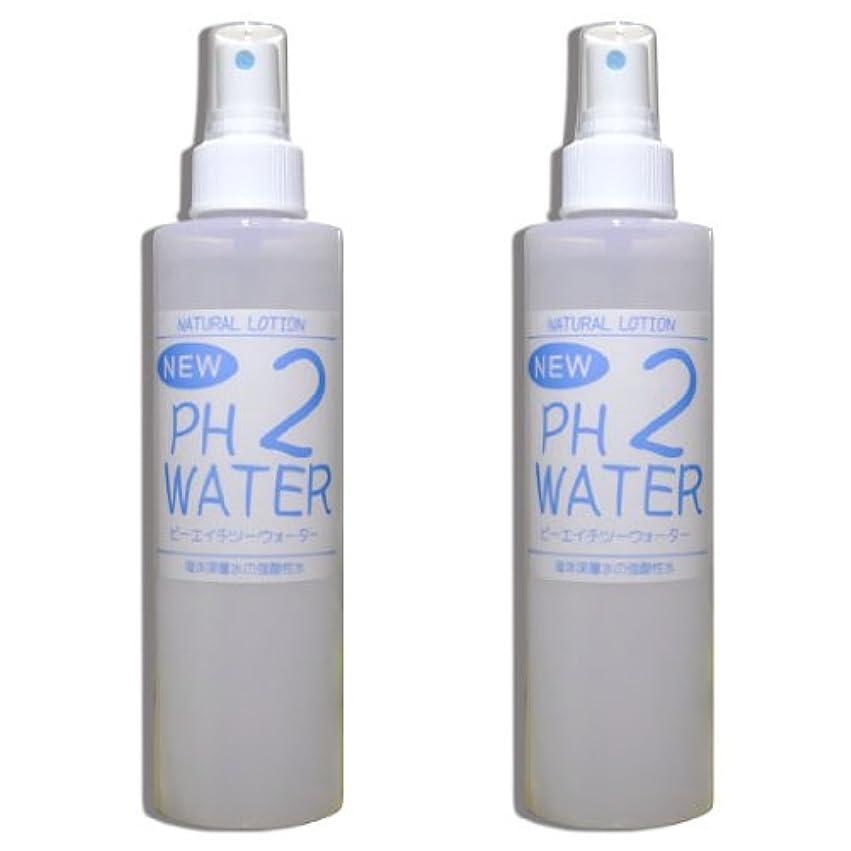 解体する乳白色接辞強酸性水 NEW PH2ウォーター『200mlスプレー2本セット』