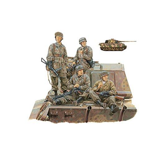 サイバーホビー CH7361 72WWII独 第3降下猟兵w/キングタイガー