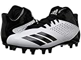 [adidas(アディダス)] メンズスニーカー・靴・シューズ 5-Star Mid Football Black/White/Silver Metallic US 12 (30cm) D - Medium [並行輸入品]