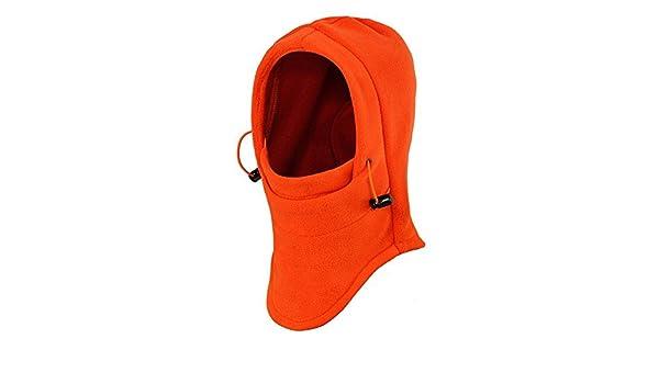 713fc1a4dc0 ezyoutdoor Windproof Bucket Hat New Winter Thermal Fleece SWAT Ski Face  Mask Hat for Outdoor Sports