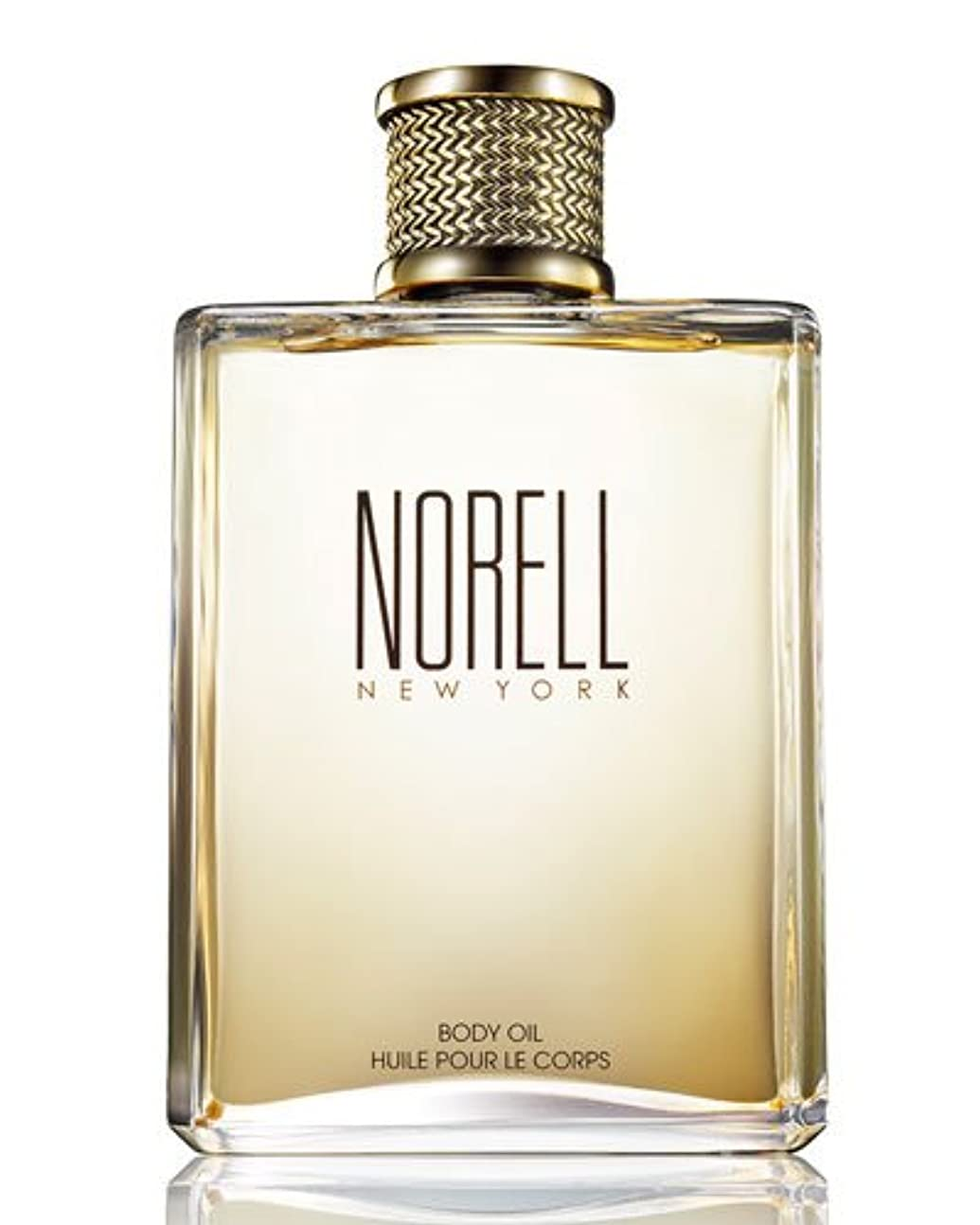 ブロックする上下するリップNorell (ノレル) 8.0 oz (240ml) Body Oil by Norell New York
