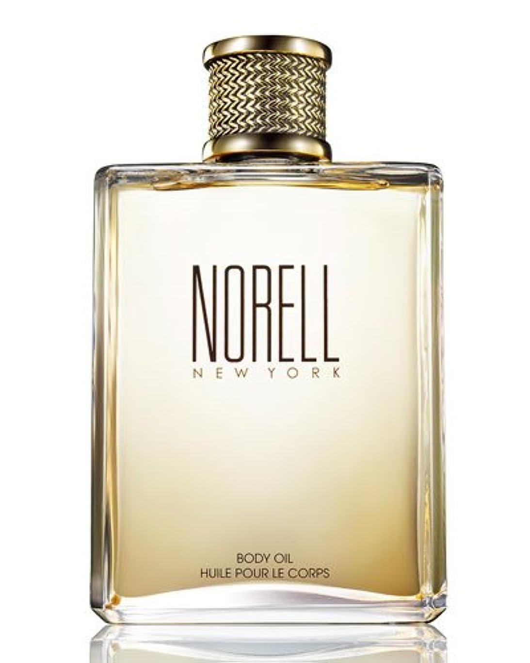 ホースベスビオ山完璧なNorell (ノレル) 8.0 oz (240ml) Body Oil by Norell New York