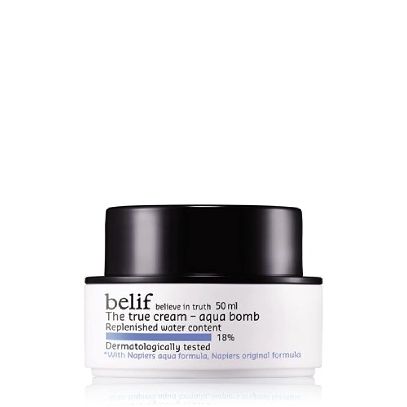 Belif(ビリーフ) The true cream-aqua bomb 50ml/ザトゥルークリームアクアバーム/ビリーフ水分爆弾ジェルタイプクリーム/さわやかな使用感//オーガニックコスメ