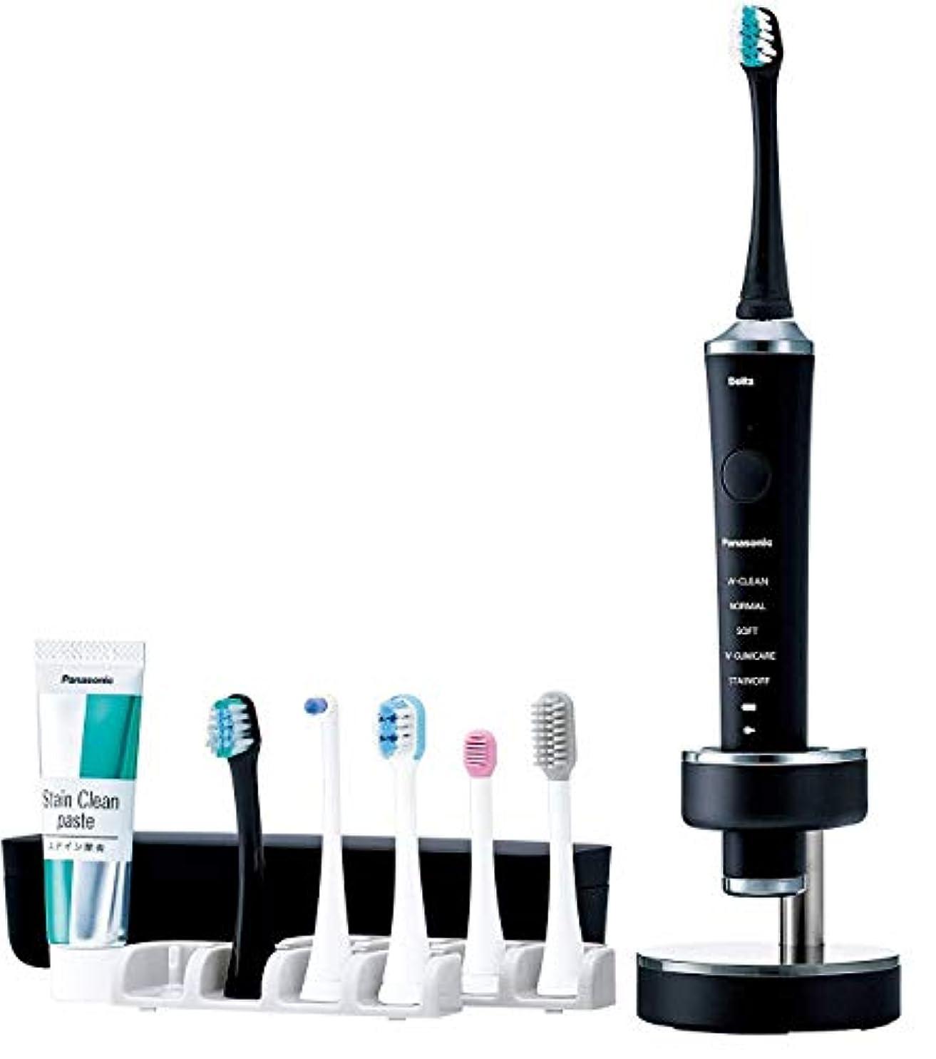 太い逃げる高価なパナソニック 電動歯ブラシ ドルツ 黒 EW-DP52-K