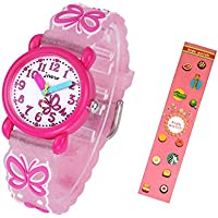 Idealin Kid Watch Waterproof 3D Cartoon Silicone with Gift Case for Children