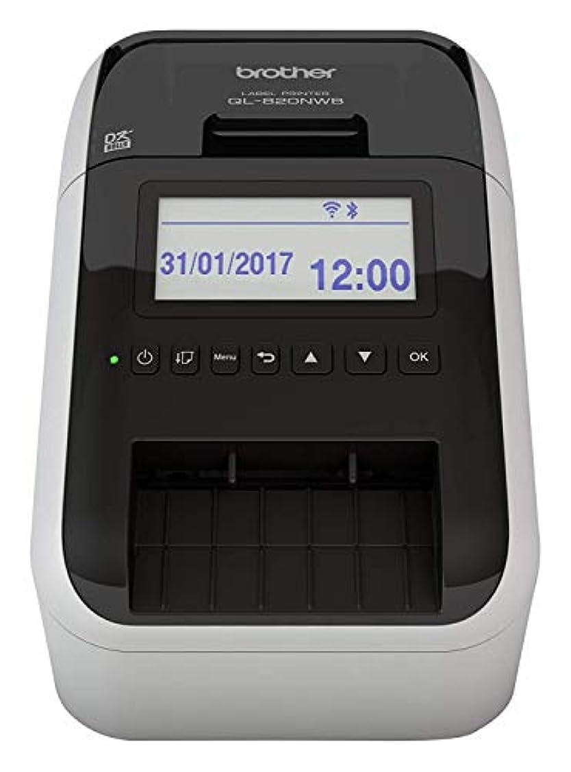 作り上げる元の急勾配のブラザー工業 感熱ラベルプリンター QL-820NWB【並行輸入】