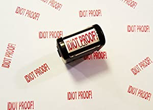 The Gags Idiot Proof! Self Inking Funny Office Stamp for Stupid People In Your Office or Life [並行輸入品]