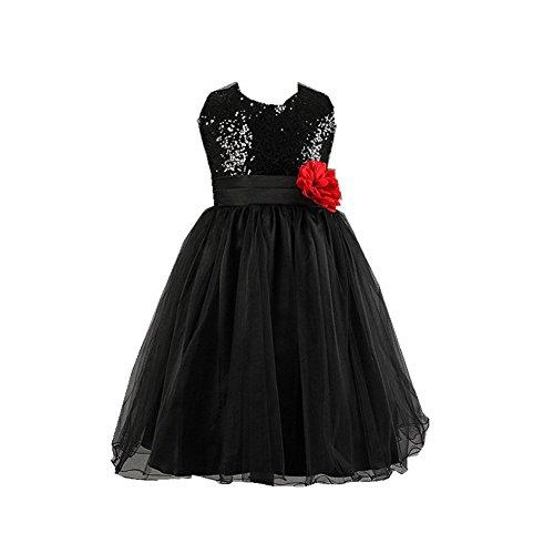 d126e6c16f294 子供ドレス キッズワンピース 女の子スカート ガールズフォーマル パーティードレス 結婚式 入園式 七五三 入学式 演奏会 卒業式 (160cm