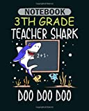 Notebook: 20 types of sharks fin shark marine biology - 50 sheets, 100 pages - 8 x 10 inches