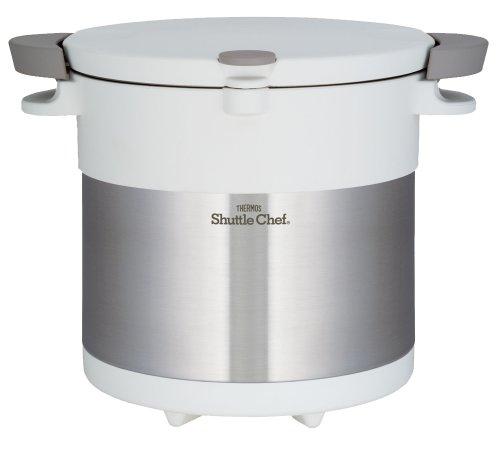 真空保温調理器 シャトルシェフ 4.5L KBC-4501 PWH [ピュアホワイト]