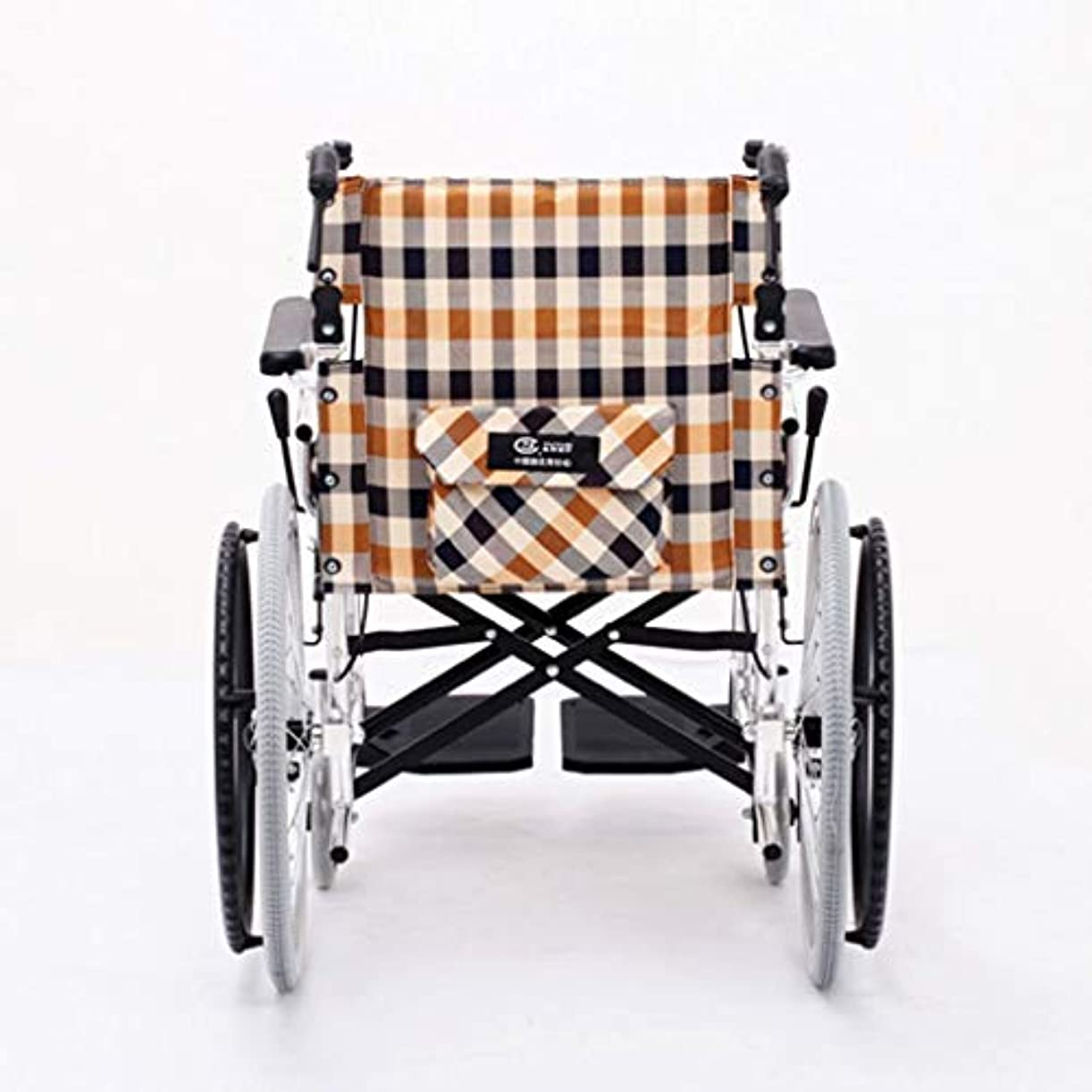 テスト蚊副詞車椅子のアルミニウムフレームの障害者、高齢者およびリハビリテーションの患者のための高齢者の携帯用旅行車椅子