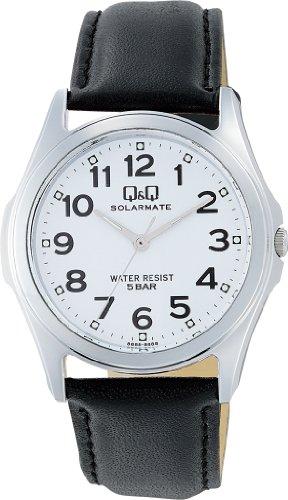 シチズン Q&  Q 腕時計 SOLARMATE  ソーラーメイト  ソーラー電源  H008-304 ホワイト メンズ