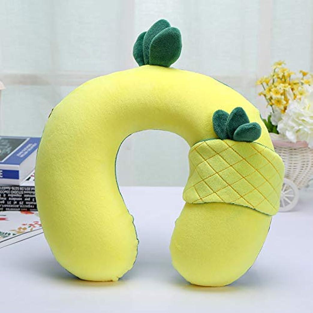 経度驚いた考案するHPYOD HOME 四季ユニバーサルファッションオフィスナップネックピローソフト枕U字型枕 (Color : Yellow)