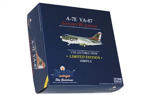 1:72 Witty Sky Guardians (シリーズ 2) WTW72024-03 Vought A-7A Corsair II ダイキャスト モデル USN VA-87 Golden War