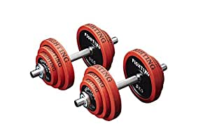 ファイティングロード Co, Ltd. (FIGHTINGROAD Co, Ltd.) ダンベル ラバータイプ (40kgセット)