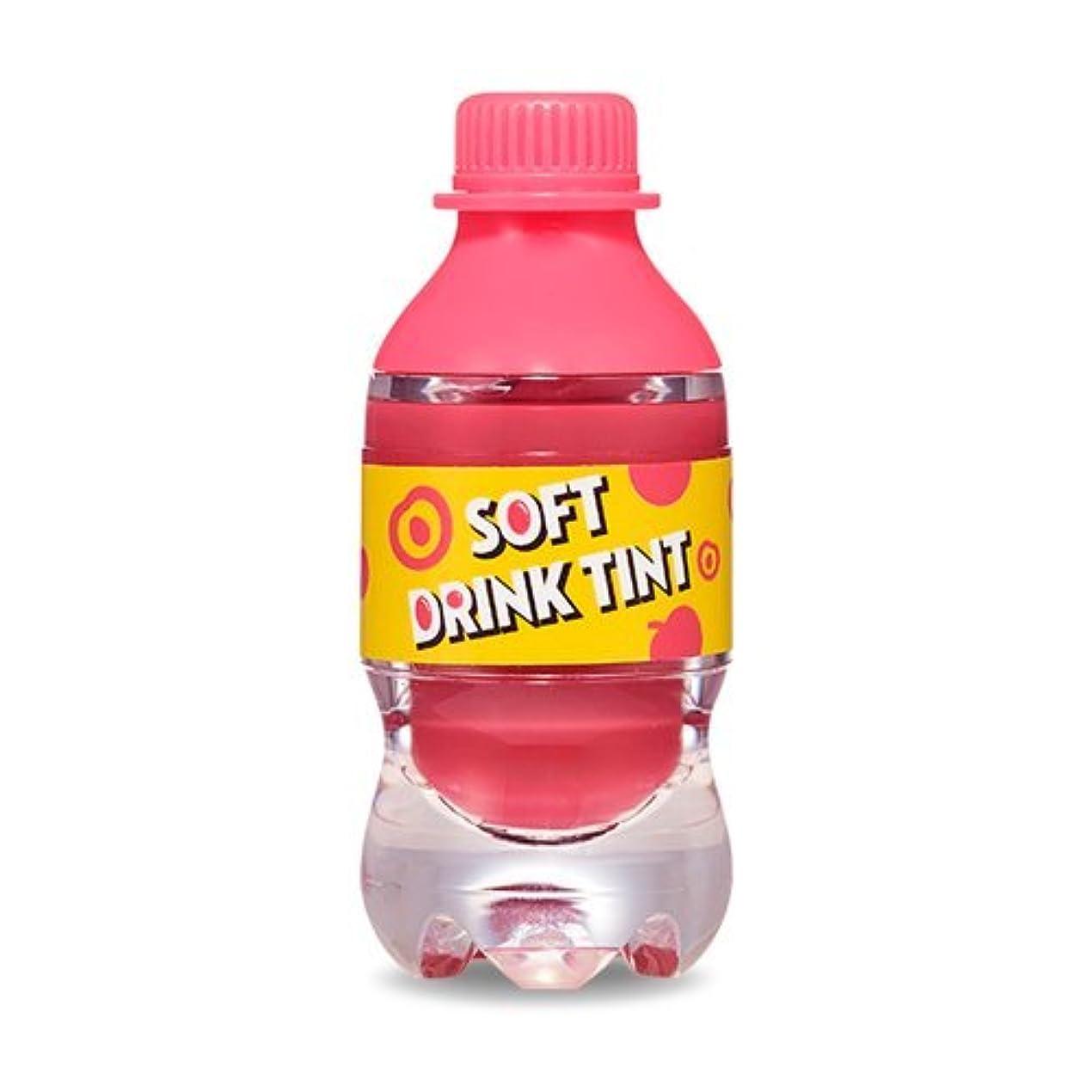 全体にスキル特徴づけるエチュードハウス ソフトドリンクティント # PK001 Peach Tok Tok Tok/ETUDE HOUSE Soft Drink Tint 4.3g ソーダドリンクティント [並行輸入品]