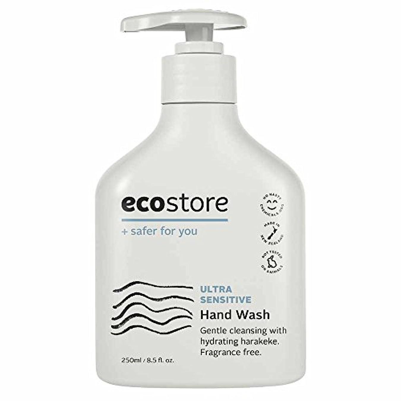 道路ブリード五十ecostore(エコストア) ハンドウォッシュ 【無香料】 250ml 液体タイプ