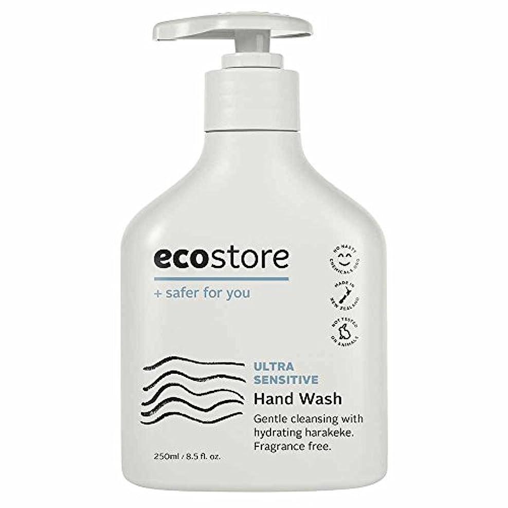 追放シネマ器官ecostore(エコストア) ハンドウォッシュ 【無香料】 250ml 液体タイプ