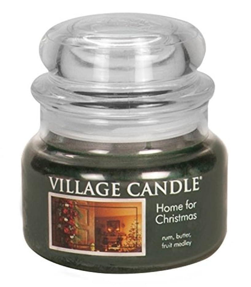 虫束ねるサンダルVillage Candle Home for Christmas 11 oz Glass Jar Scented Candle,Small [並行輸入品]