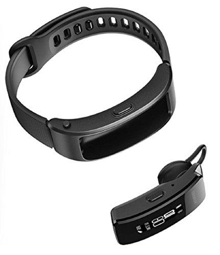 [해외]Huawei TalkBand B3 Lite 핸즈프리 스마트 워치 일본어 대응 Bluetooth Wristband + Headset GRU-B09 블랙 [병행 수입품]/Huawei TalkBand B3 Lite hands free smart watch Japanese compatible Bluetooth Wristband + Headset GRU - B 09 Black [Pa...
