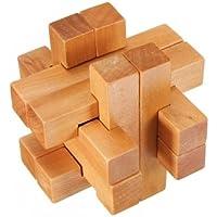 ビンデージ 3D YX835 木製 ブレーン ティーザー パズル ゲーム トイ 並行輸入品