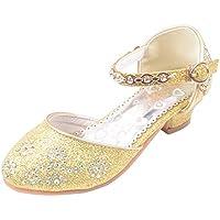 通用 Hebang Girls Princess Ballet Shoes Plat Glitter Dress for Pretty Girl