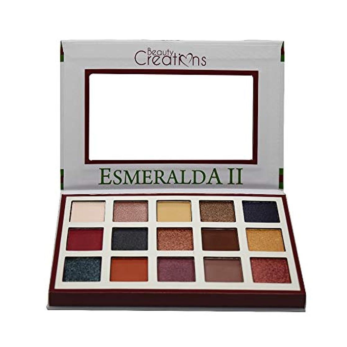 窓意味奴隷BEAUTY CREATIONS Esmeralda II 15 Color Eyeshadow Palette (並行輸入品)