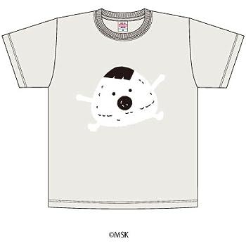 Tシャツ「あはれ!名作くん」16/オートミール Sサイズ(むすび)