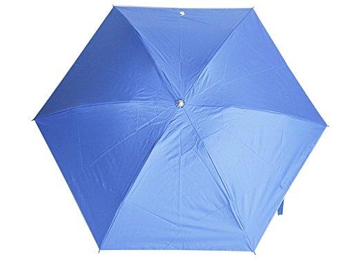 ラルフローレン 折りたたみ傘 晴雨兼用 パラソル 遮熱効果 ブルー トラッド