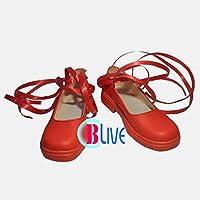 ●●サイズ選択可●●I0870ZEI コスプレ靴 ブーツ ローゼンメイデン 雛苺 ひないちご Kleine Beere 女性24.5CM
