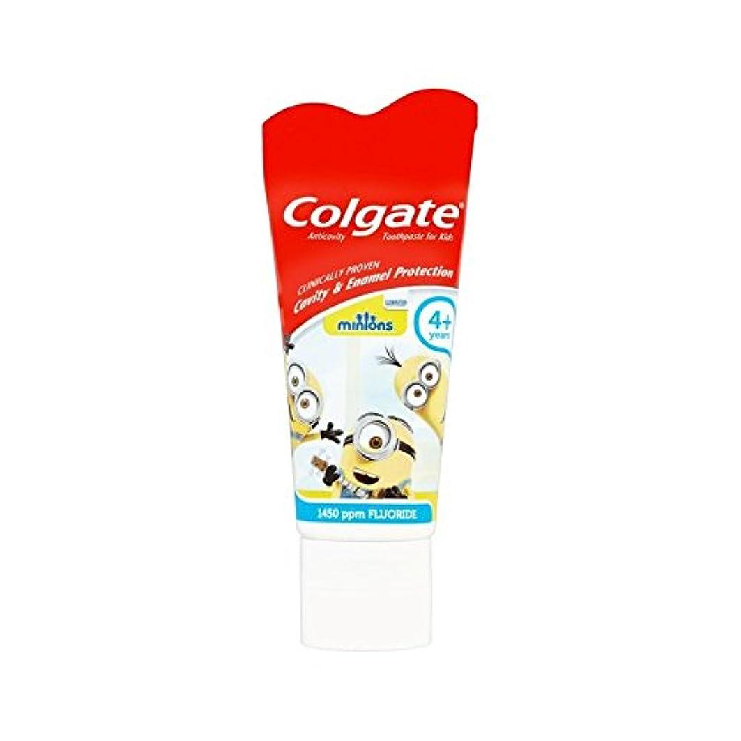 ピカソ会員クリーナー手下の子供4+歯磨き粉50ミリリットル (Colgate) - Colgate Minions Kids 4+ Toothpaste 50ml [並行輸入品]