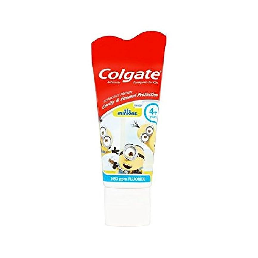 不適名門することになっている手下の子供4+歯磨き粉50ミリリットル (Colgate) (x 4) - Colgate Minions Kids 4+ Toothpaste 50ml (Pack of 4) [並行輸入品]